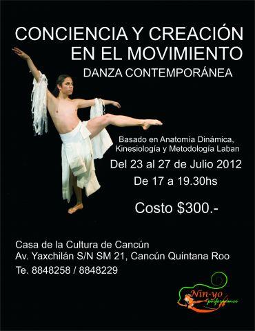Danza Contemporánea con Keops Guerrero   Quintana Roo al Día